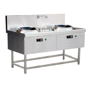 Guzzini Commercial Double Induction Wok Range