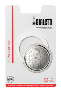 Bialetti Seal and Filter Pack -Moka Express