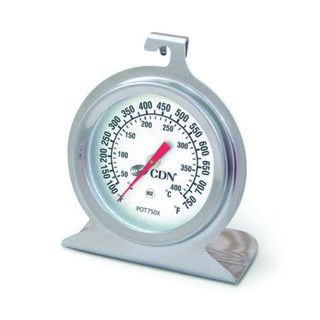 CDN Pro Accurate High Heat Oven Thermometer