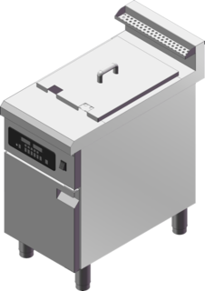 Guzzini Single Tank Induction Fryer
