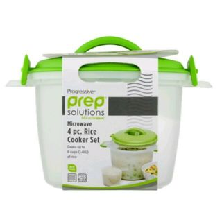 Prep Solution Microwave Rice Cooker Set - 4 Piece