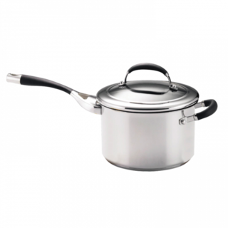 Circulon 3.8L Steel Elite Saucepan