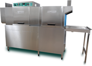 Eswood ES100 Series Rack Conveyor Dishwashers