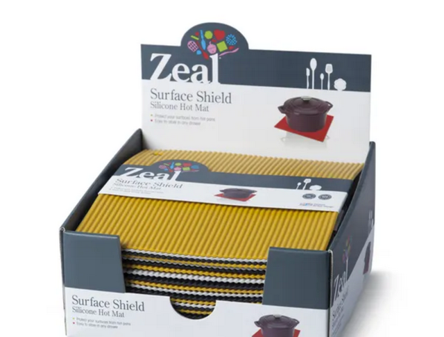Zeal Surface Shield Silicone Hot Mat