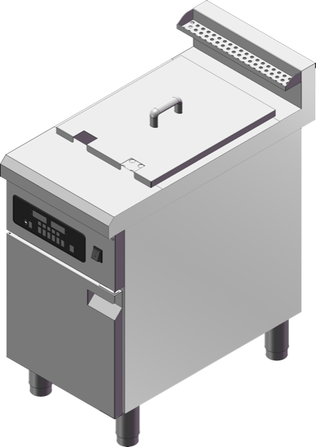 Guzzini Commercial Freestanding Single Tank Induction Fryer