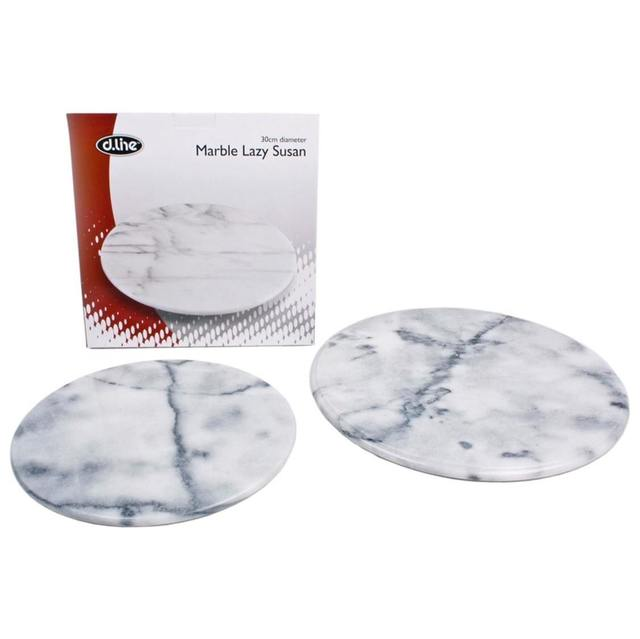 D.line Grey Marble Lazy Susan Turntable
