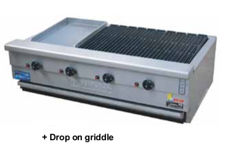 Goldstein 800 Series RBA-48 Char Broiler