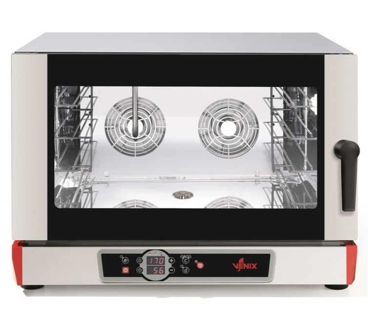Venix B04DV.16 Electric Digital Convection Oven with Steam
