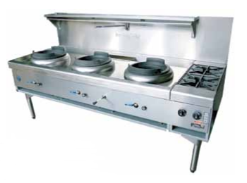 Gas Wok Cooking Ranges